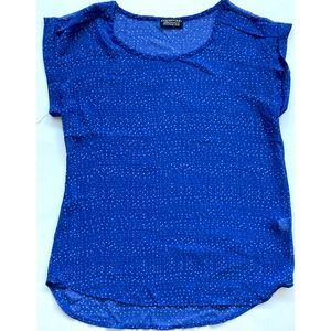 Papermoon Stich Fix Top Blue Size Small